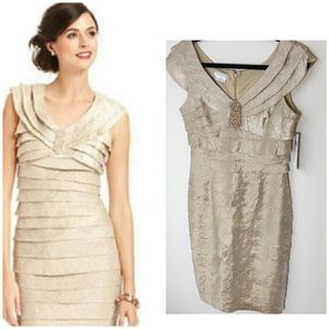 London Times NWT cocktail evening special dress